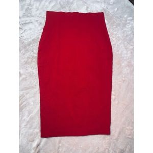 Red Pencil Skirt from Windsor